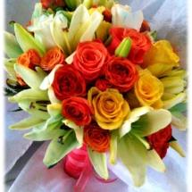 bouquet coral rib