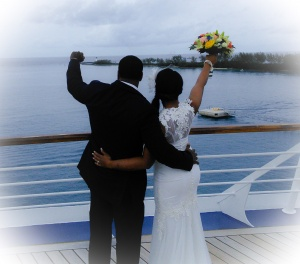 Bahamas cruise ship wedding